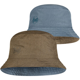 Buff Travel Chapeau seau, zadok blue-olive